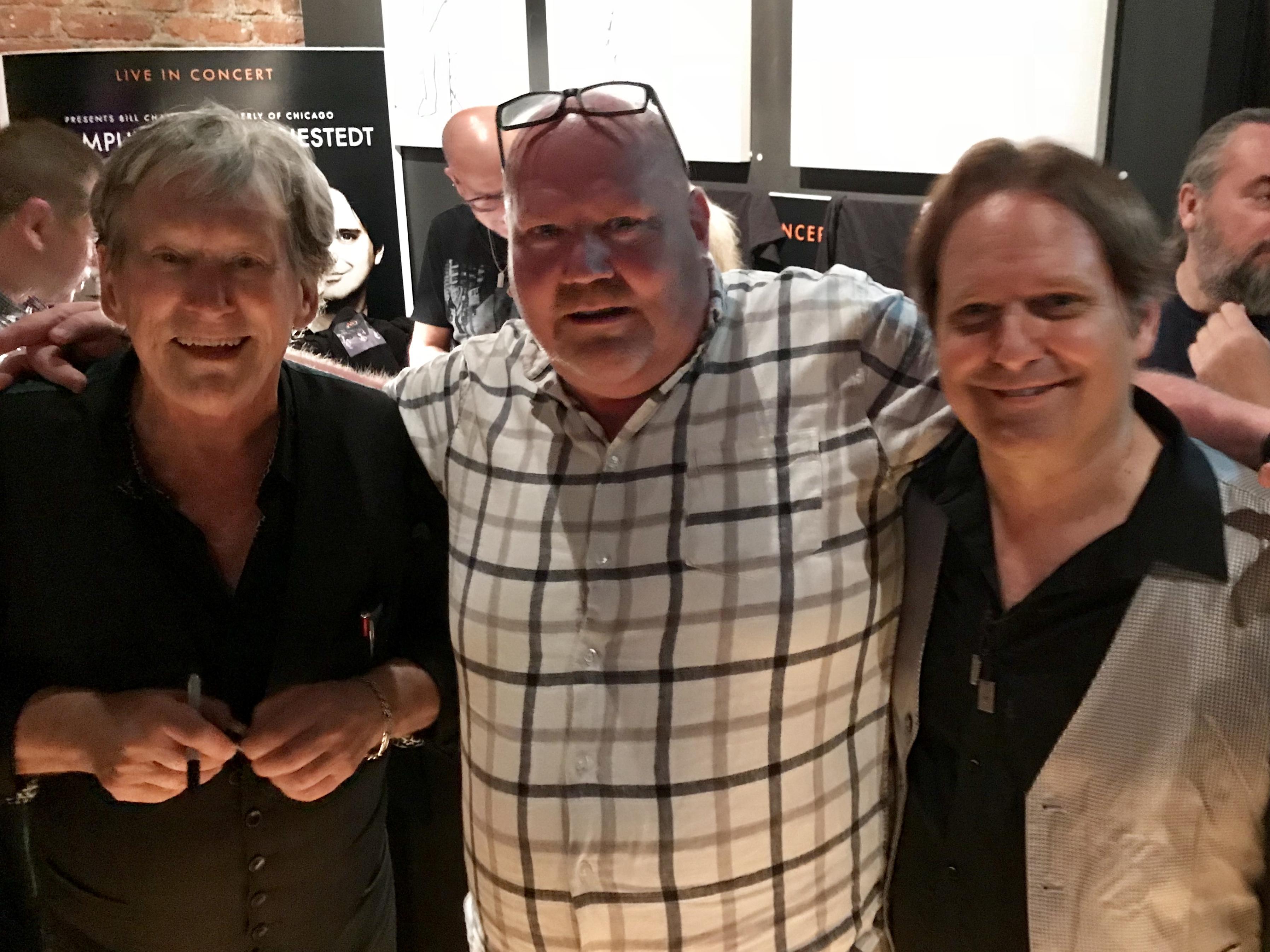 Bill Champlin, Bengt Isaksson och Peter Friestedt